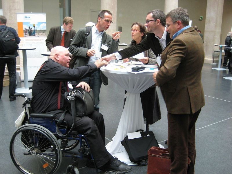 Peter Rubin, Martin Coordes, Andreas Philipp beim Stifterforum 2009 in München